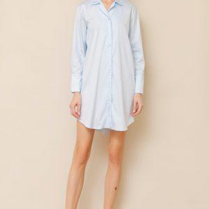 Elise Dress Solid Cotton