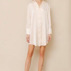Elise Dress Solid Silk