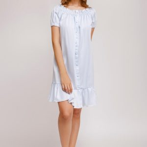 Claudia Dress Solid Cotton